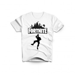 TEE SHIRT BLANC FORTNITE MODÈLE 2