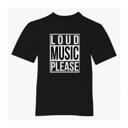 Loud Music Please DJ DeeJay Club Rave T-shirt