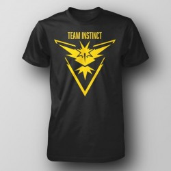Pokemon Go - TEAM INSTINCT Large Logo T-Shirt