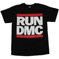 T-Shirt Run Dmc Noir