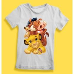 T-Shirt Le Roi Lion Simba