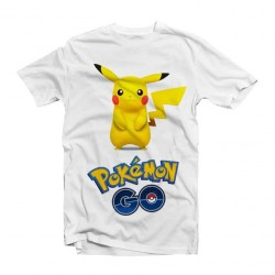 T-Shirt Pikachu Pokemon GO