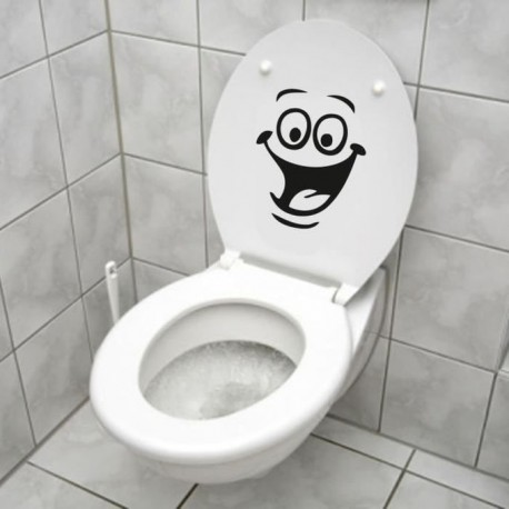 Stickers Smiley Visage Drôle