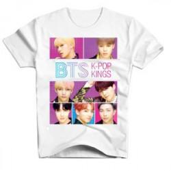 TSHIRT BTS K-POP KINGS