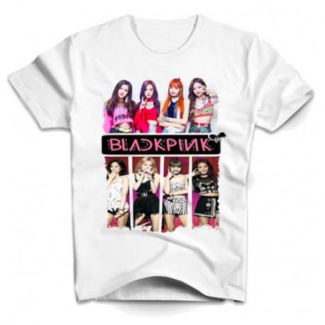 T-shirt Black pink Fans