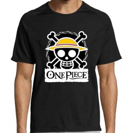 T-shirt Noir ONEPIECE