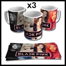 Mug Black Pink