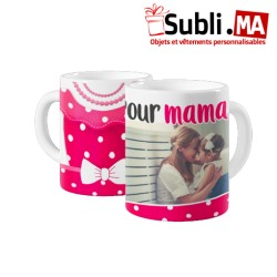 MUG PHOTO ROBE POUR MAMAN