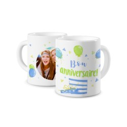 MUG PHOTO MUG D'ANNIVERSAIRE