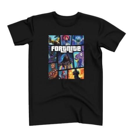 T-Shirt Fortnite Gta